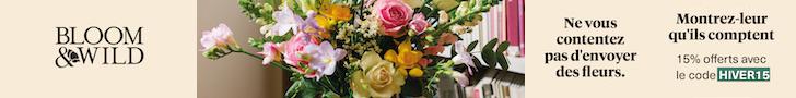 Bloom & Wild - Fleurs